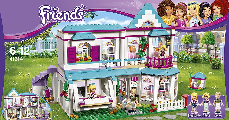 New Lego Friends Stephanie S House Set 41314 Building Toy
