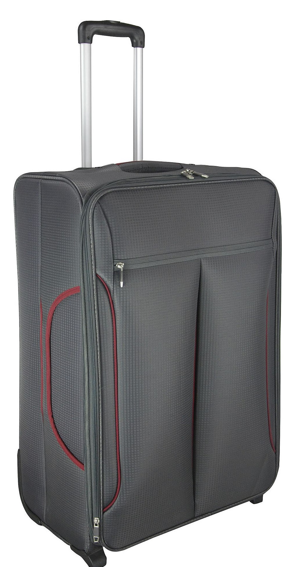 new tesco rio lightweight 2 wheel large suitcase grey. Black Bedroom Furniture Sets. Home Design Ideas
