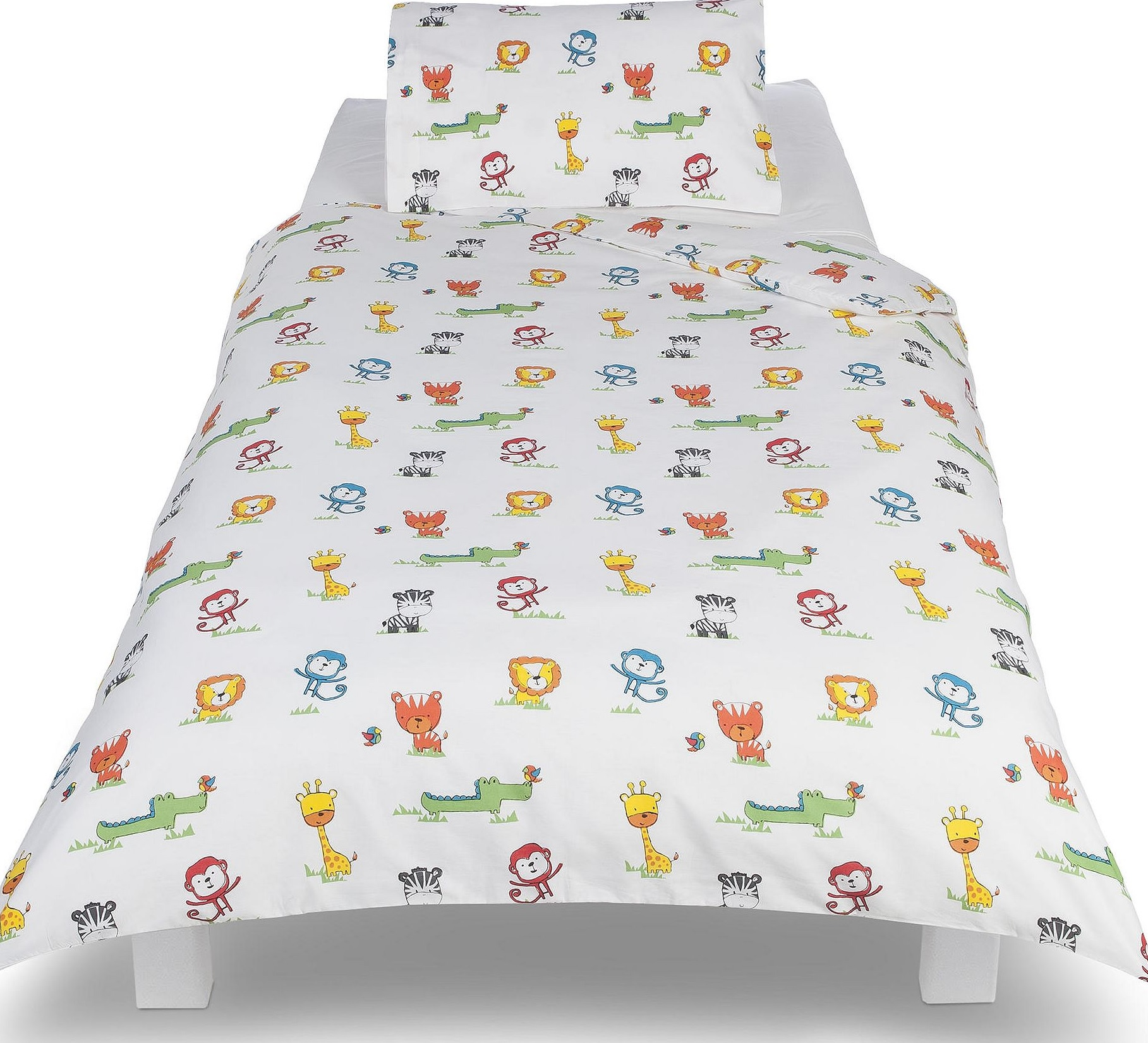 new tesco toddler cot bed duvet cover 1 pillowcase 2. Black Bedroom Furniture Sets. Home Design Ideas
