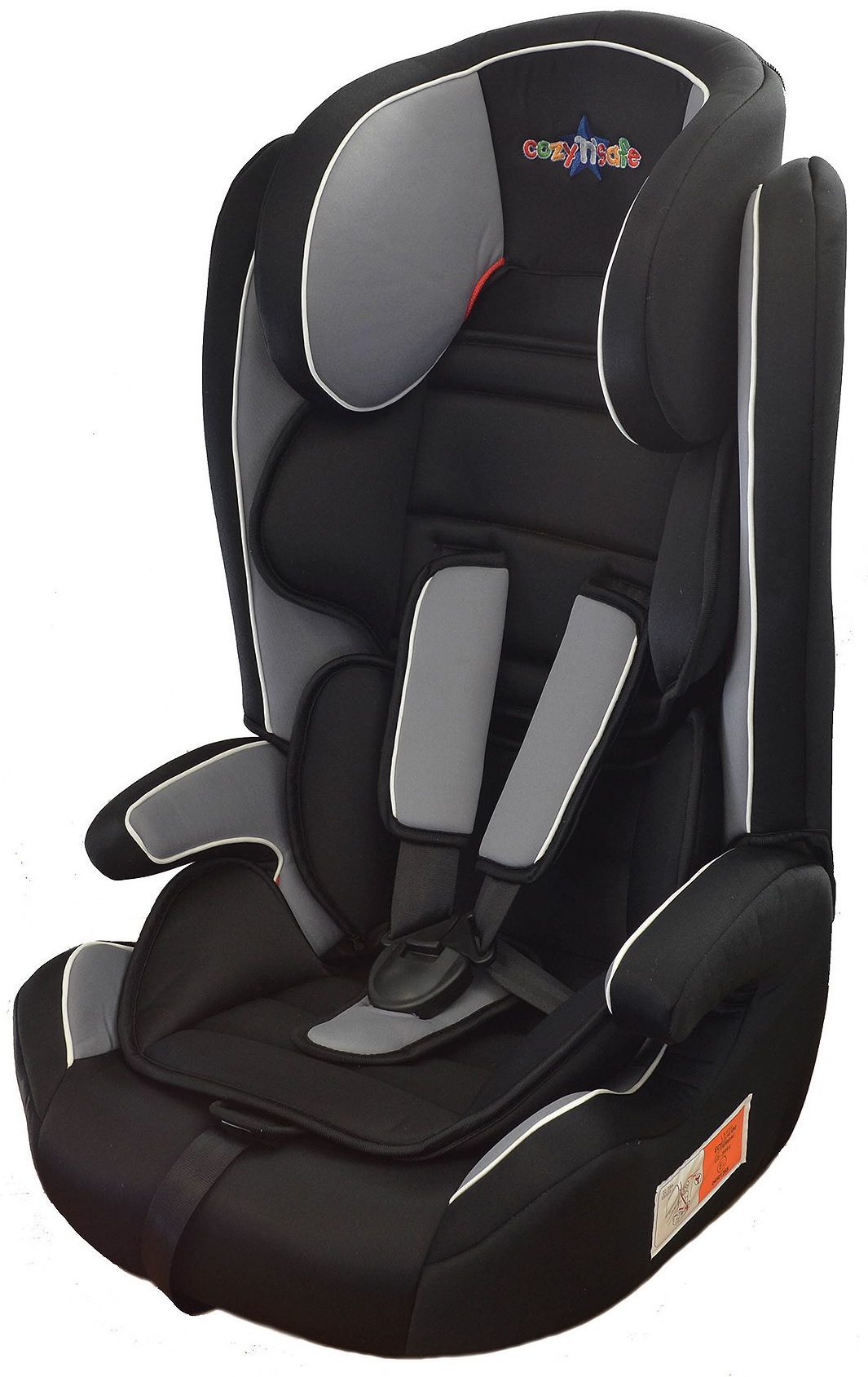 new cozy 39 n 39 safe fuji high back booster car seat with harness group 1 2 3 ebay. Black Bedroom Furniture Sets. Home Design Ideas