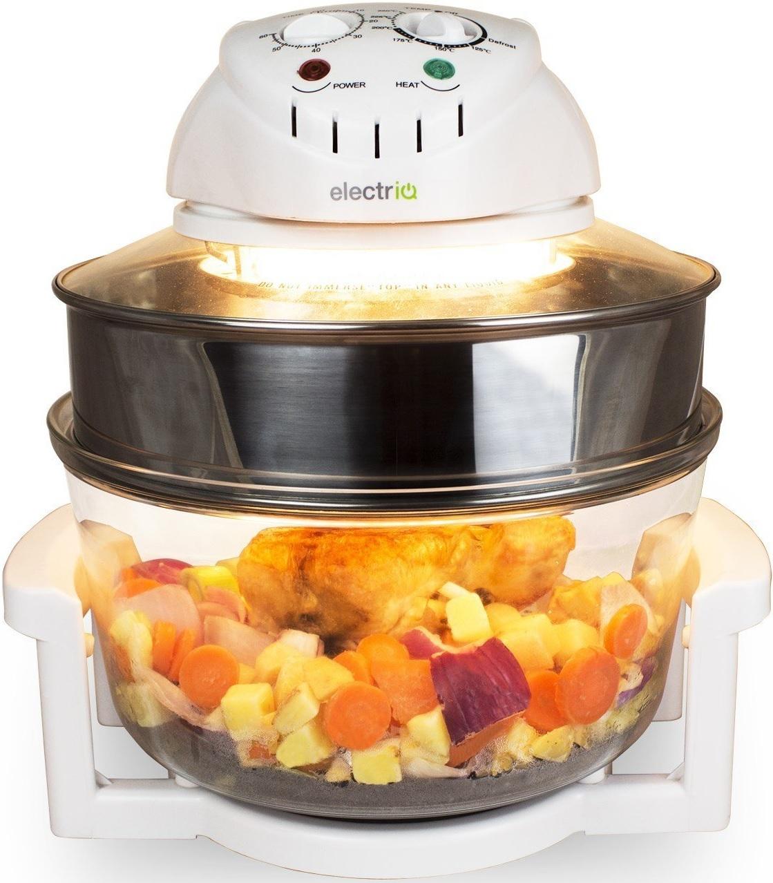 Electriq premium hal geno horno cocina con extensor anillo for Halogenos para cocina