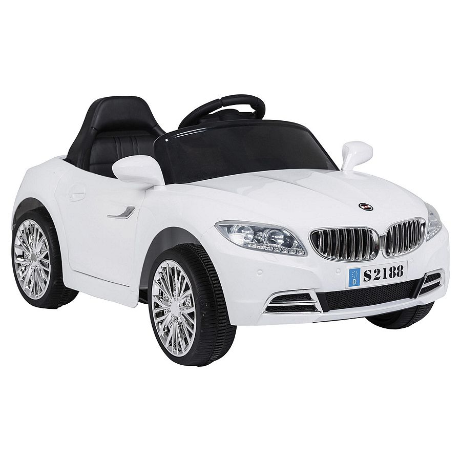 NEW Sports Car 6V Electric Ride On Car With Seat Belt And