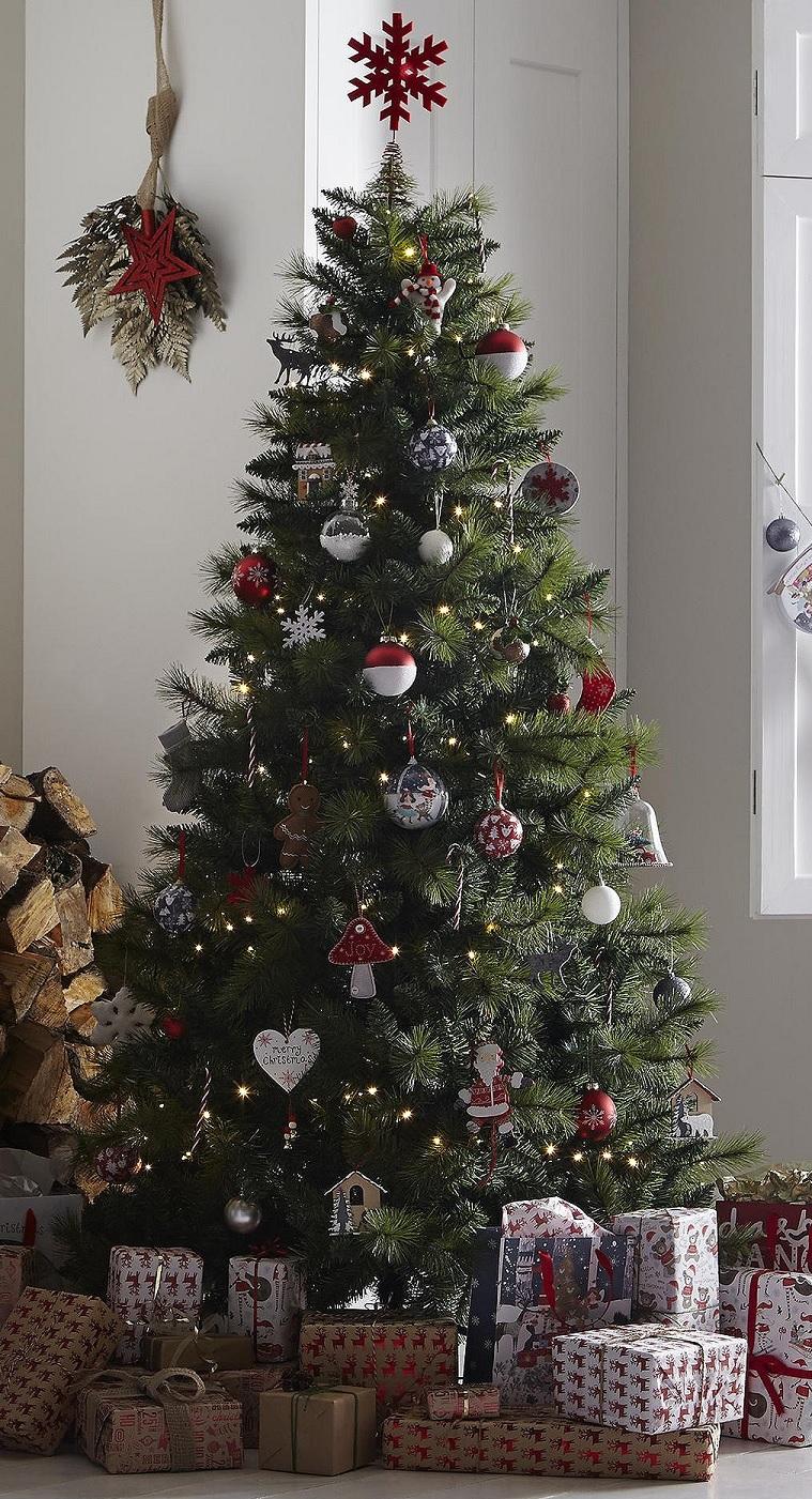 tesco 6ft colorado pine christmas tree pine a ebay. Black Bedroom Furniture Sets. Home Design Ideas