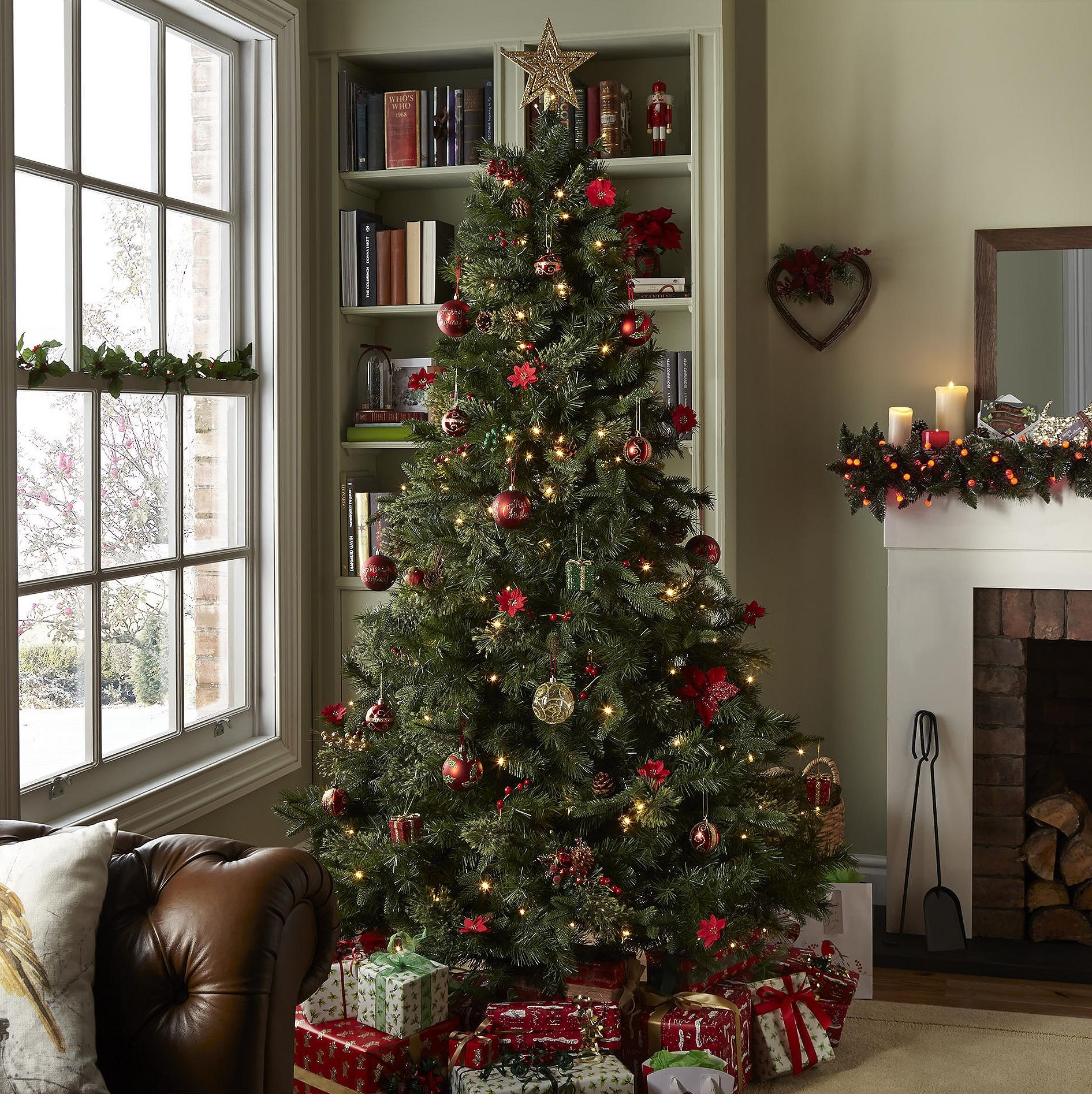 Luxurious Christmas Trees: NEW Tesco 7ft Luxury Regency Fir Christmas Tree - Green