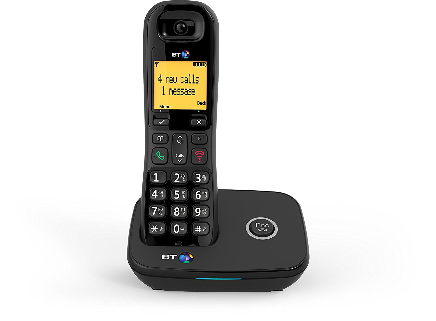 cordless home phones bt 1100 single cordless dect home phone black b ebay 955