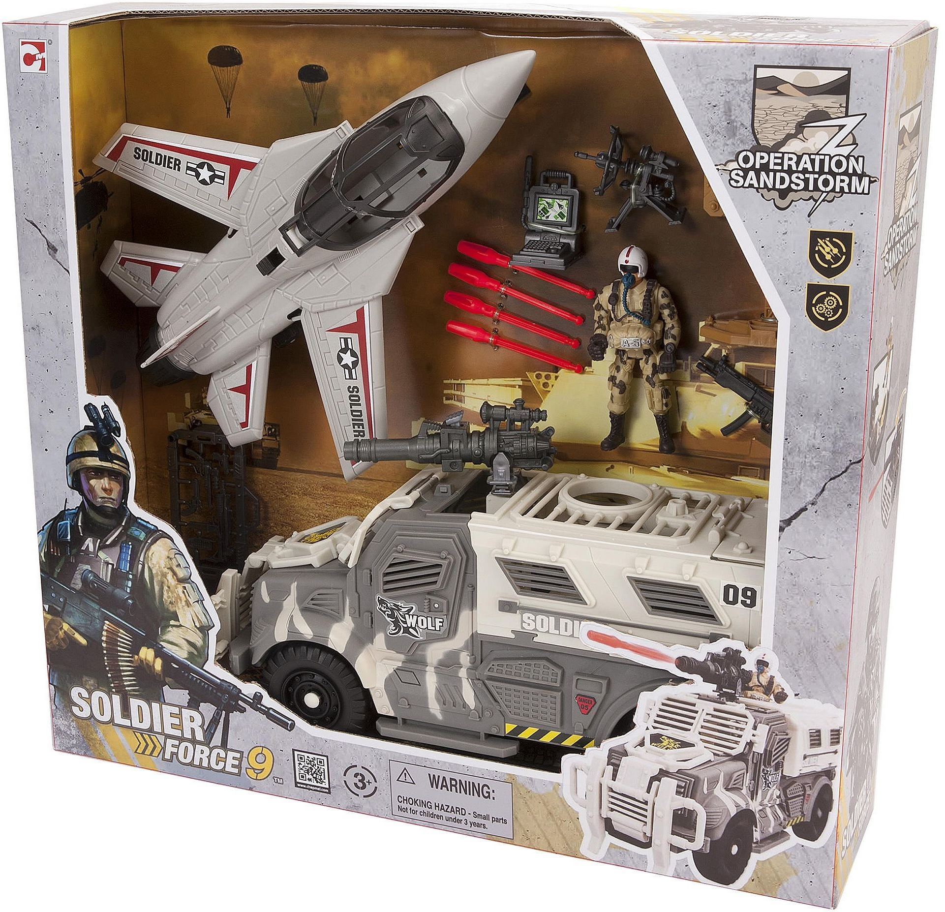 Soldier Force 9 Elicottero : New soldier force operation sandstorm fighter jet army