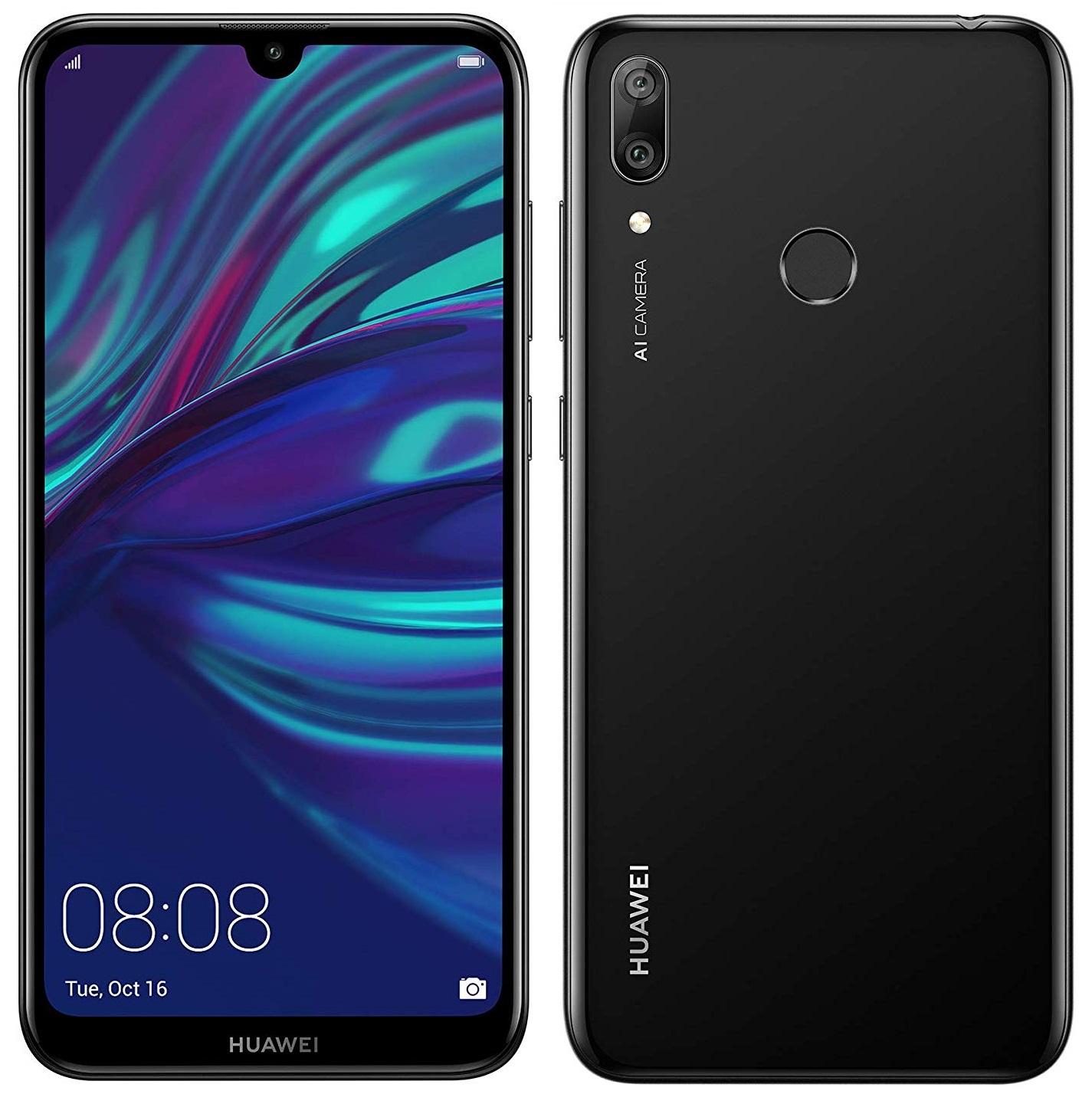 Details about Huawei Y7 Prime 2019 4G Smartphone 3GB RAM 32GB Unlocked -  Midnight Black A