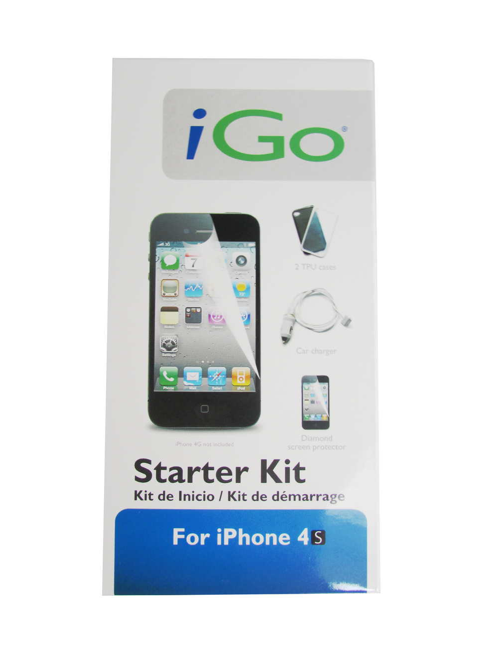 Starter Kit For Apple Iphone 3 Amp 4 Usb Car Charger Sync