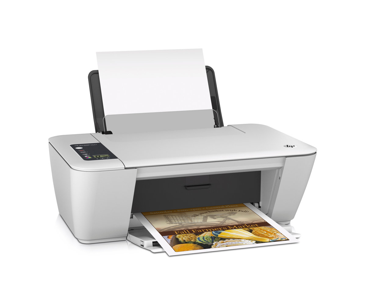how to connect hp desktop 2542 to laptop for printing