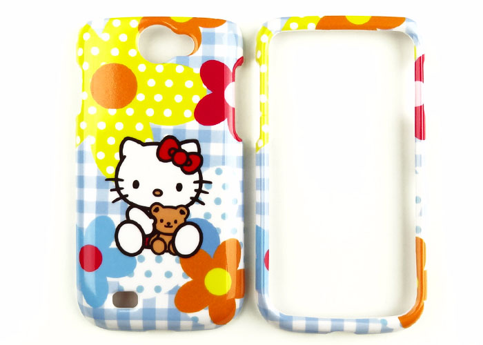 Hello Kitty Blue Phone Faceplate Case Cover For T Mobile Samsung