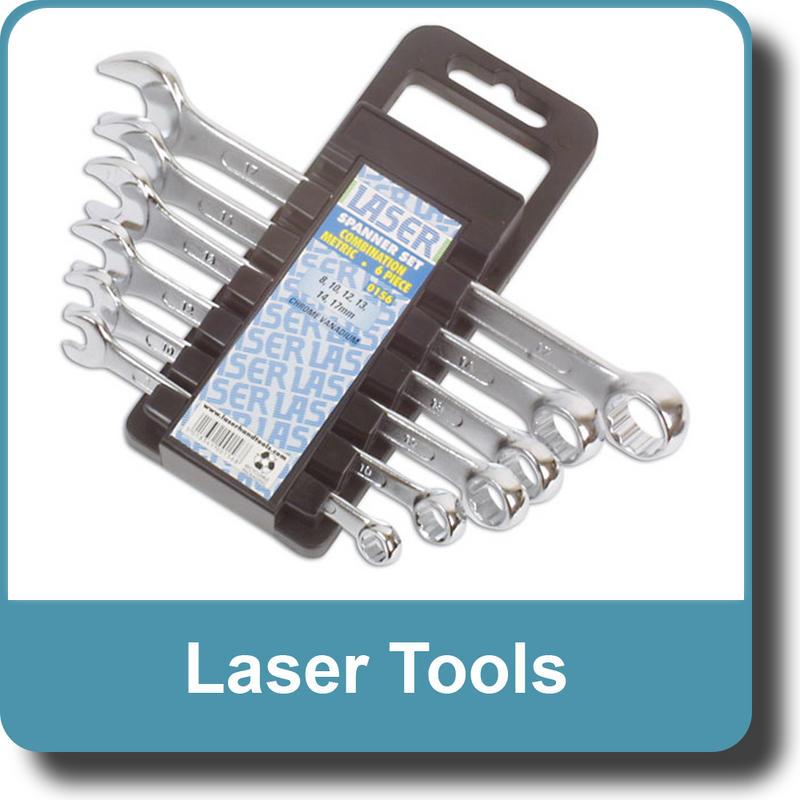 NEW Genuine LASER Combination Spanner Set 6pc 0156
