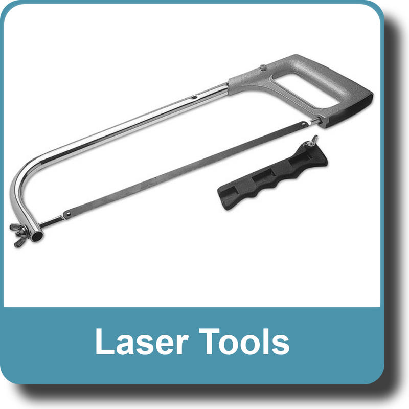 NEW Genuine LASER 0250 Hacksaw 300mm (12'')+ Pad Saw