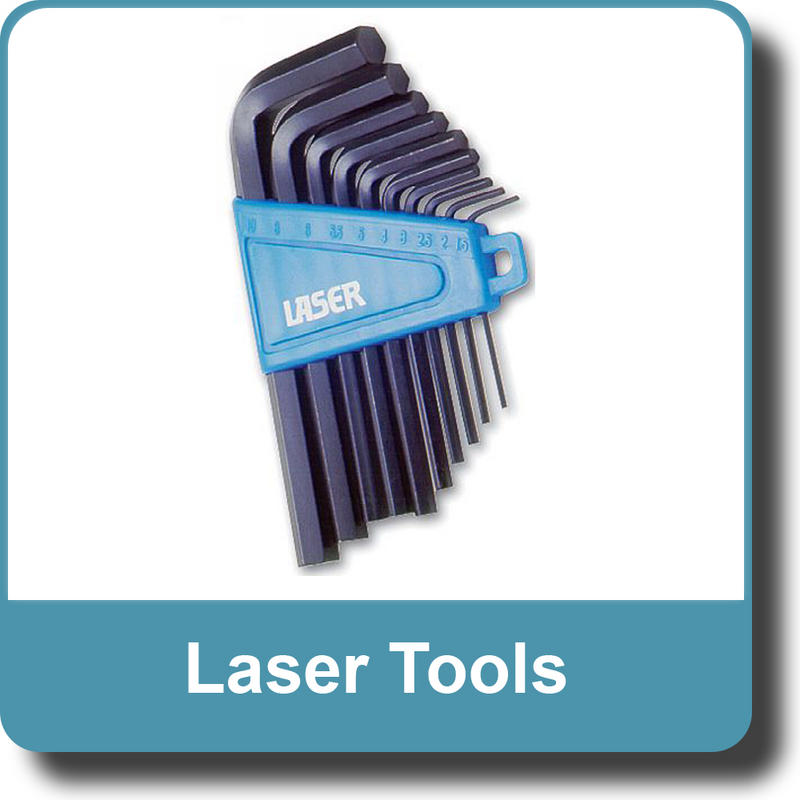NEW Genuine LASER 0952 Hex Key Set MM 10pc