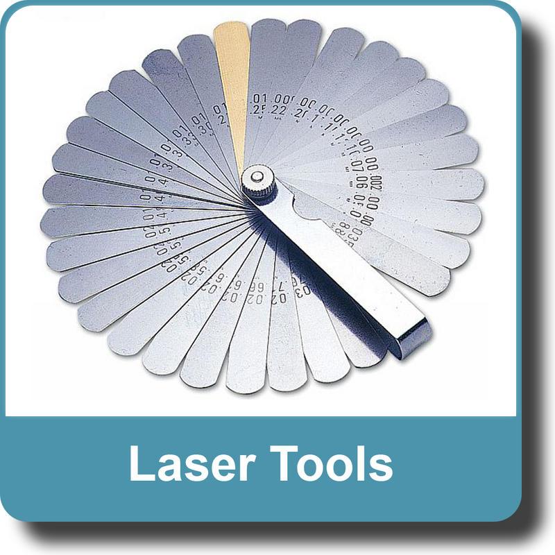 NEW Genuine LASER Feeler Gauge Imperial/Metric - 32 Blades 2481