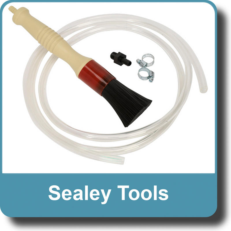 Sealey Cleaning Brush with Hose SM201