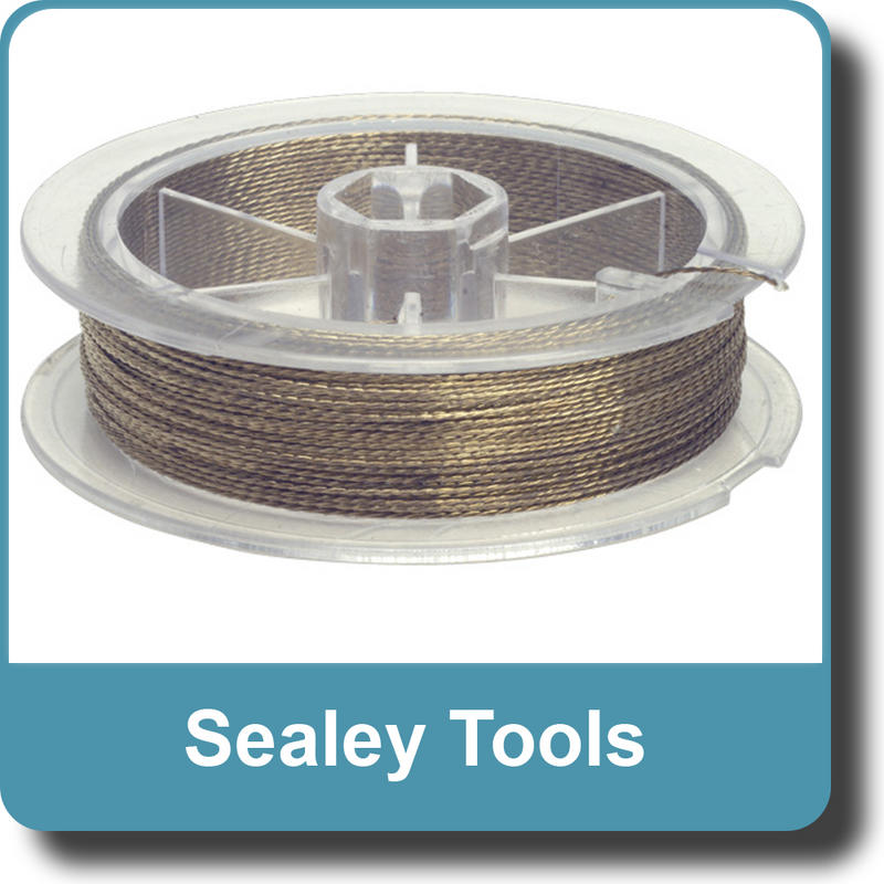 Sealey Windscreen Cutting Wire - Braided WK0513