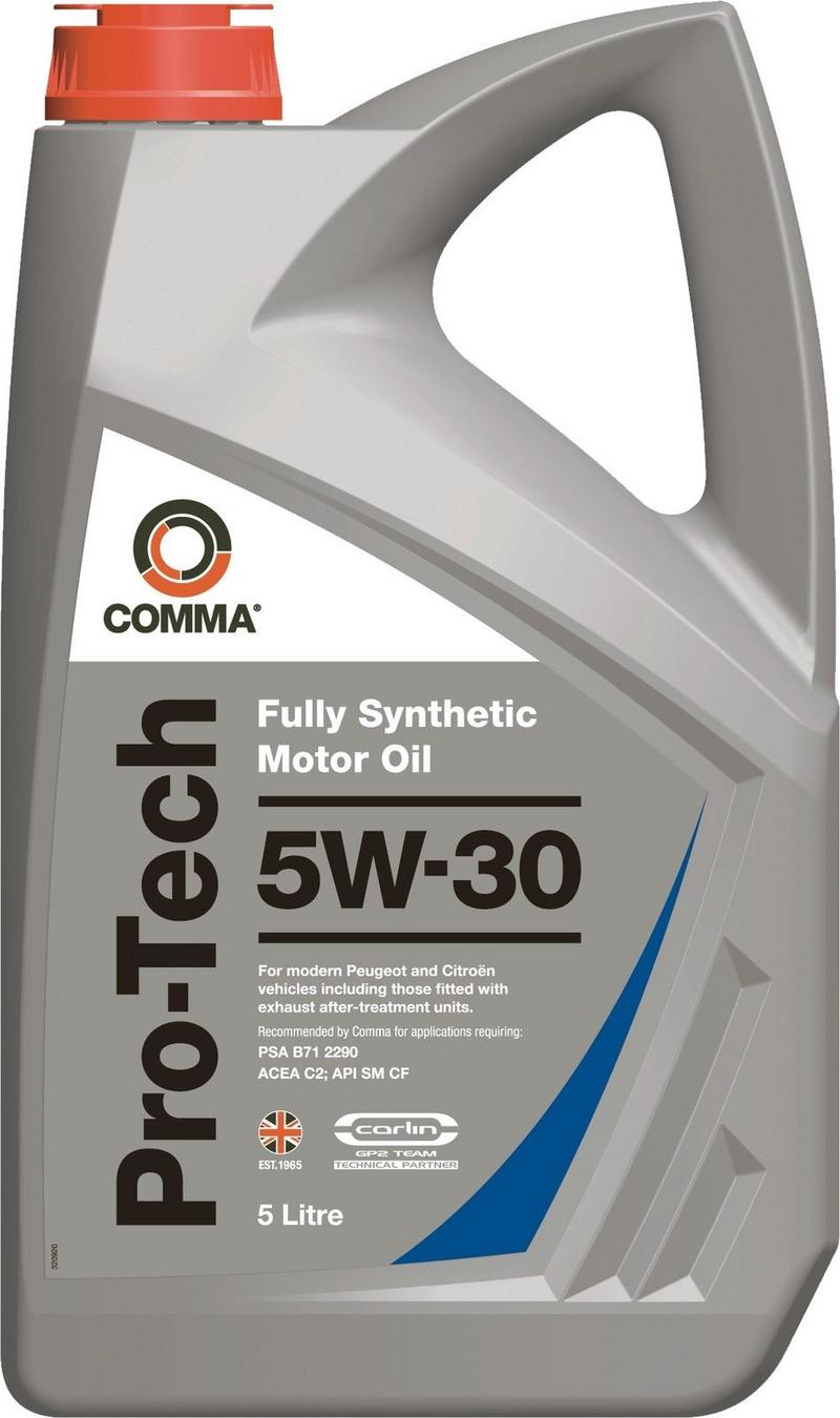 Comma PTC5L 5L Pro-Tech Fully Synthetic 5W30 Motor Oil