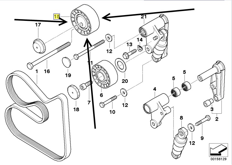 E46 Pulley Diagram Wiring Diagrams Thumbs Suspension Basic: E46 BMW Factory Wiring Diagrams At Johnprice.co