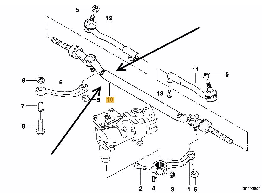 E46 Tie Rod