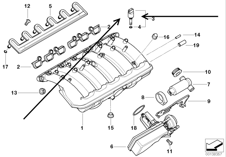 bmw e39 engine diagram temperature sensor  bmw  wiring