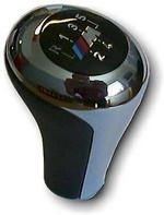 """BMW Genuine """"M"""" Sports 5 Speed Chrome/Leather Gearknob E36,E46, Z3 25112492481"""