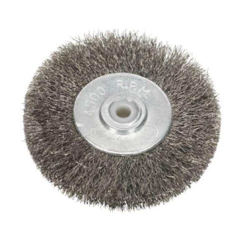 Sealey  BG1010WW50 Wire Wheel Ø50 x 13mm 6mm Bore