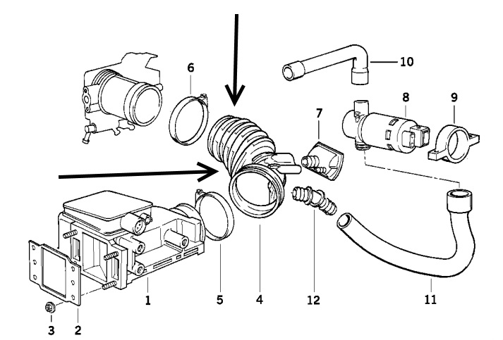 Bmw E46 Air Intake Diagram