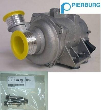 BMW Electric Water Pump + Screws 130i E90 323i 325i 330i Pierburg 11517586925 Preview