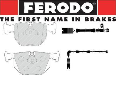 BMW E53 3.0i & 3.0d Front & Rear Brake Pad & Wire Kit All Round FERODO PREMIER Preview
