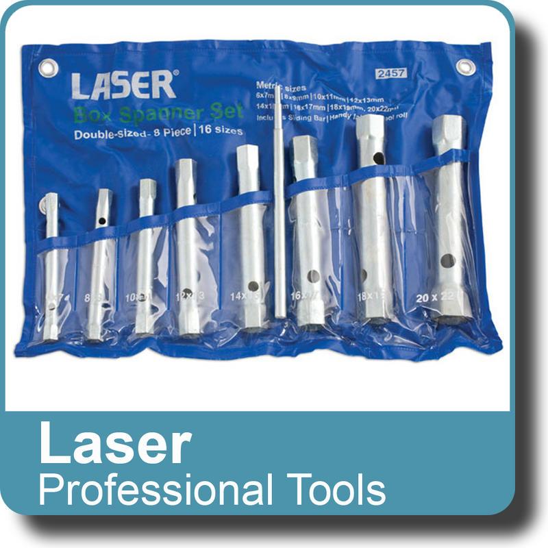NEW Genuine LASER Box Spanner Set 8pc 2457