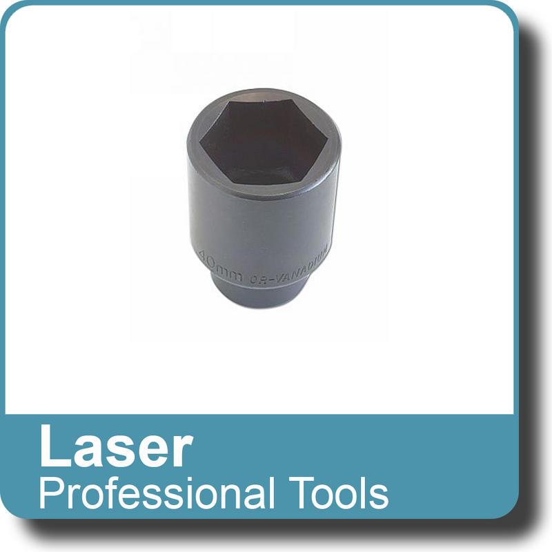 "NEW Genuine LASER - Deep Socket - Air Impact 40mm 1/2""D 2631"