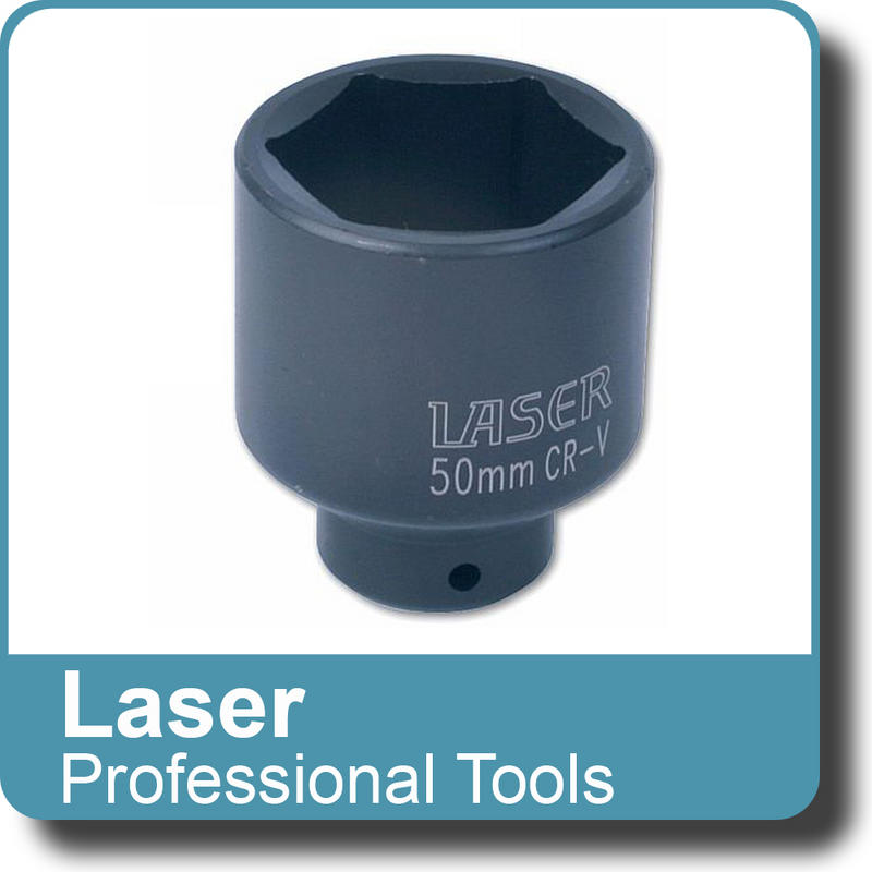 "LASER TOOLS  - Socket - specialist 50mm 1/2""D  (3380)"