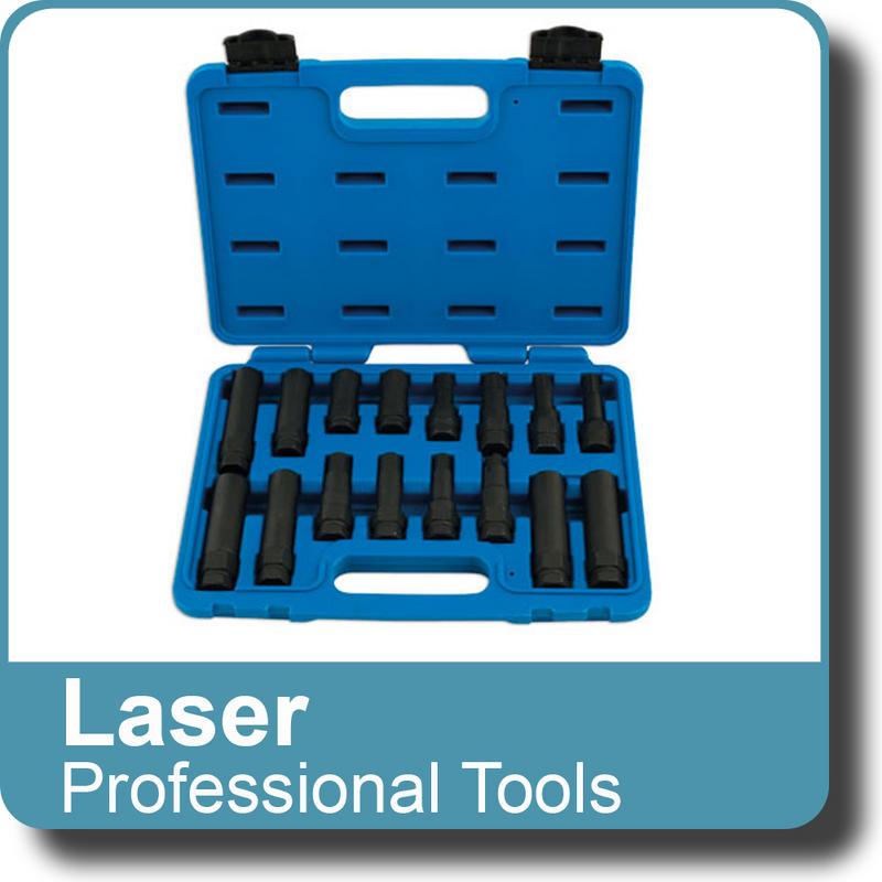 NEW Genuine LASER - Locking Wheel Nut Master Key Set 16pc 5982