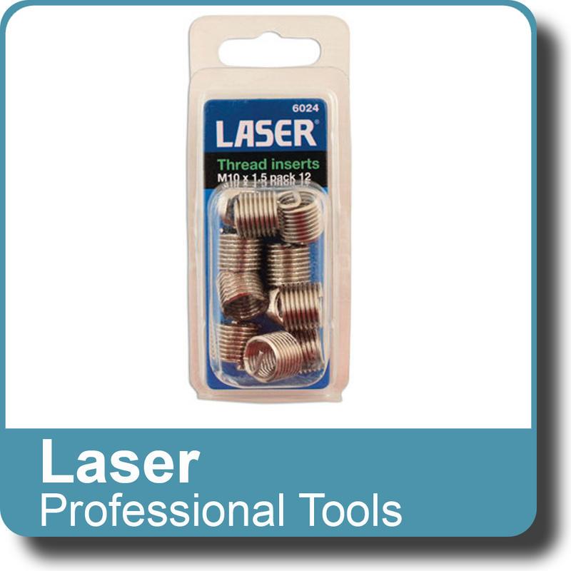 NEW Genuine LASER - Thread Insert M10x1.5 - Pack 12 6024