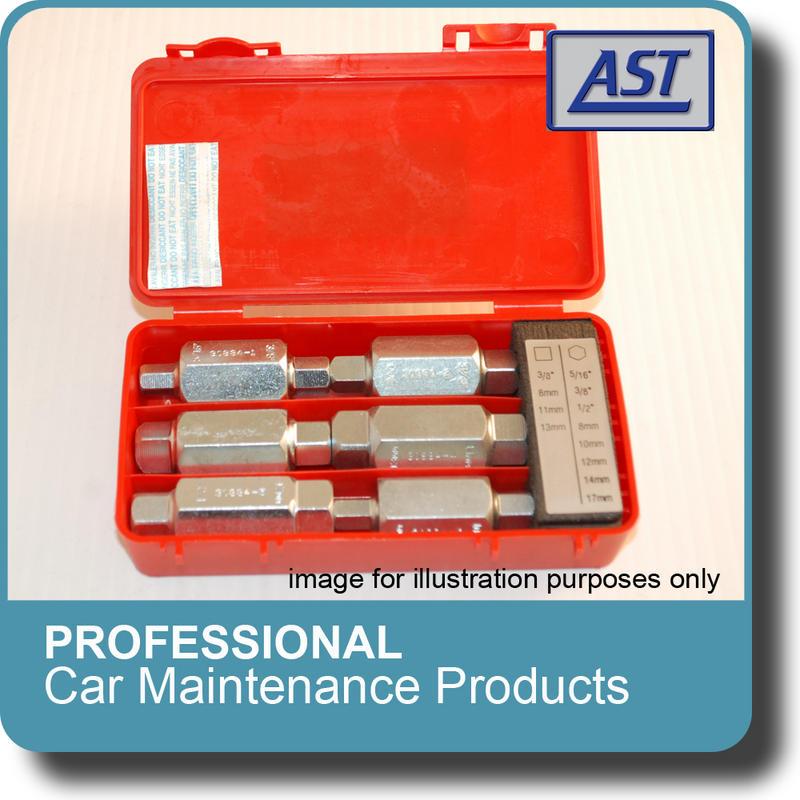 AST Professional Auto Tools  -  Drain Plug Key Set  (AST3088A)