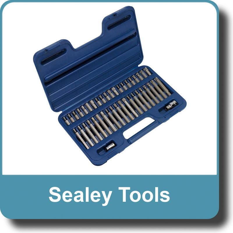 "Sealey TRX-Star/Spline/Hex Bit Set 42pc 3/8"" & 1/2""Sq Drive AK219"