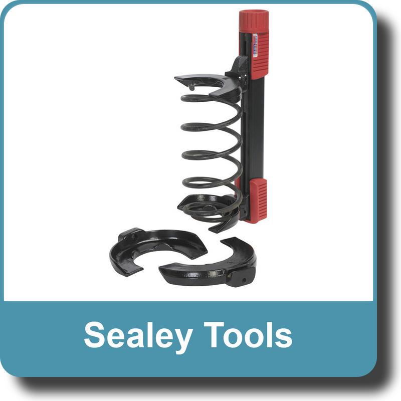 Sealey Coil Spring Suspension Clamp Removal Compressor Kit 2250kg - RE225
