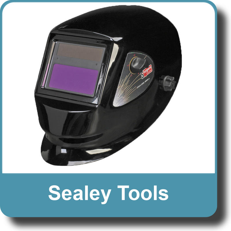 Sealey Siegen  Welding Helmet Solar Powered Variable Shade 9-13 S0825