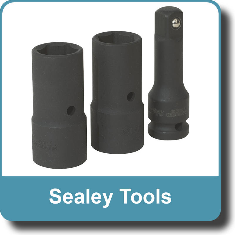 "Sealey Tools SX270 Impact Flip Socket Set 3pc 1/2""Sq Drive"