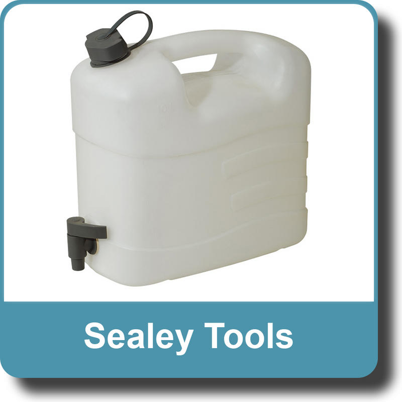 Sealey Fluid Container 10ltr with Tap WC10T