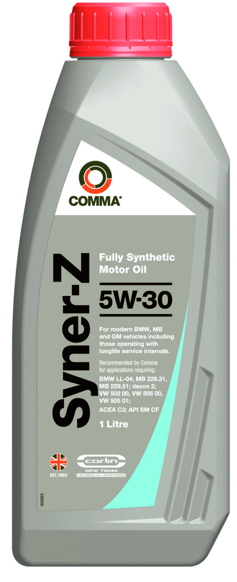 syner z 5w30 fully synthetic bmw ll 04 engine oil 1 litres