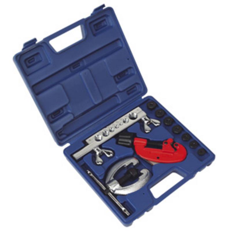Sealey Pipe Flaring & Cutting Kit 10pc AK506