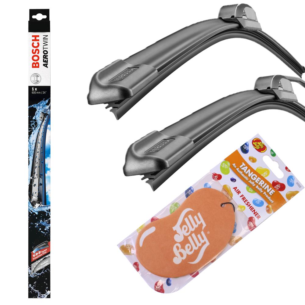 22 tangerine jelly belly bosch aerotwin wiper blade set. Black Bedroom Furniture Sets. Home Design Ideas