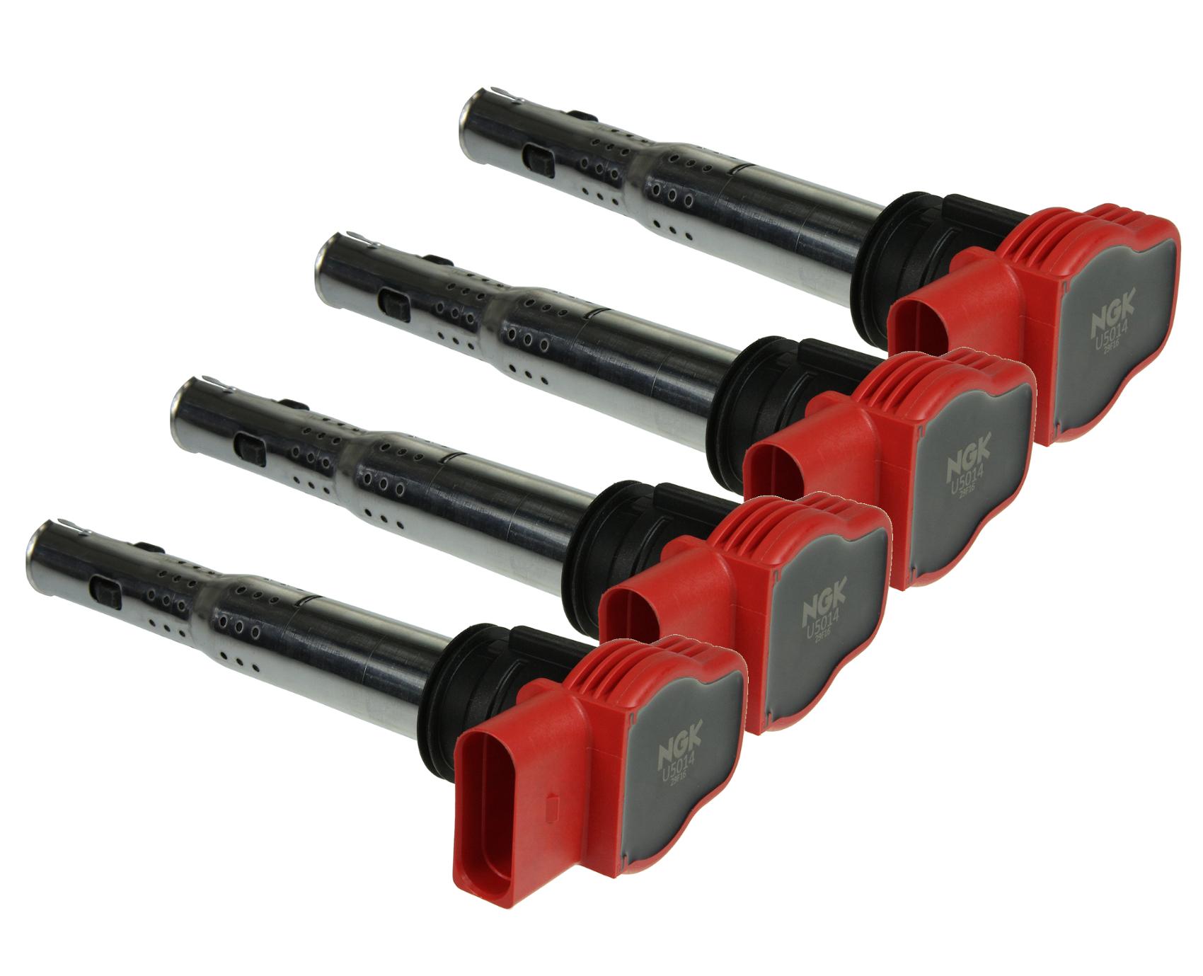 4x NGK AUDI R8 Red Coil Pack Set 2 0TFSI/2 0TSI 06E905115E | eBay