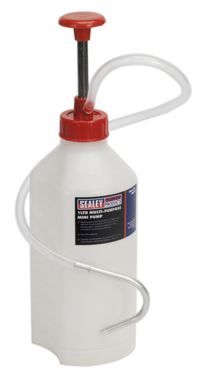 TP6804 SealeyMulti-Purpose Car Lawnmower Mini Pump 1 ltr Garage Work Tool