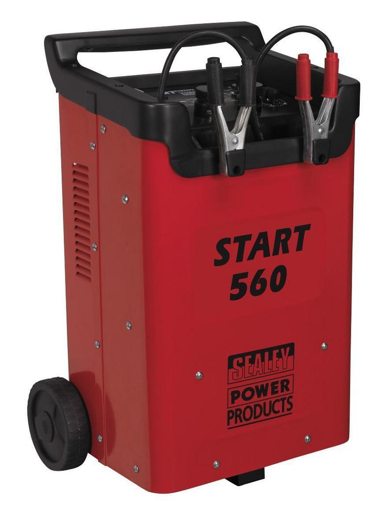 START560 SEALEY Battery Starter Charger 560/90Amp 12/24V 12 or 24 Volt 230V