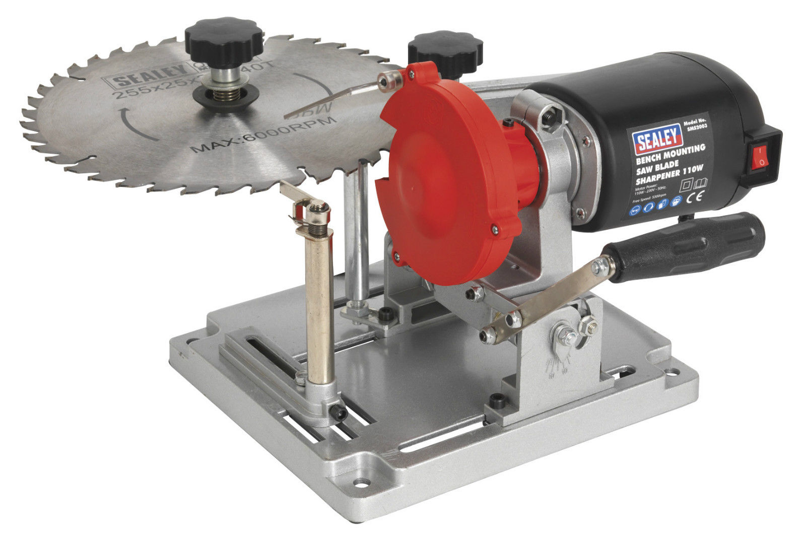 New Sealey Sms2003 Bench Mount 90mm 400mm Tct Saw Blade