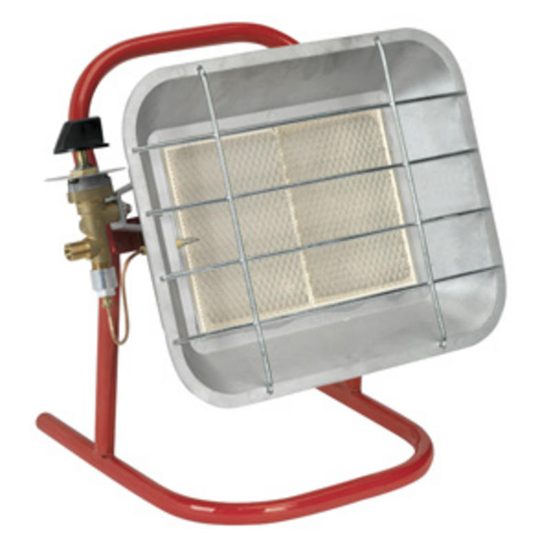 LP14 Sealey Space Warmer® Propane Heater WITH STAND 10,250 -15,354Btu/hr