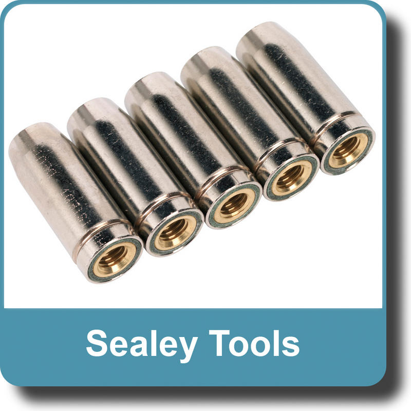 Sealey - Conical Nozzle TB14 Pack of 5   (SEAMIG950)