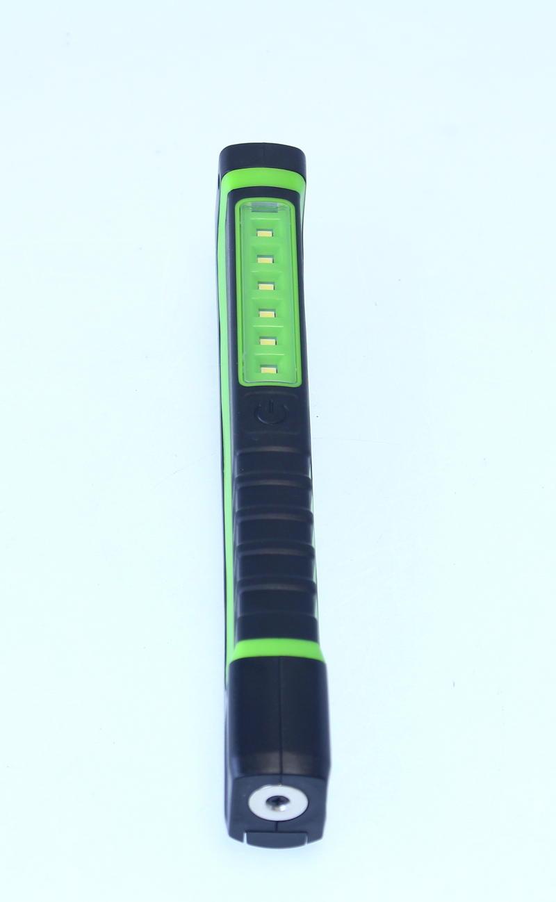 Sealey LED028G Magnetic Pocket Pen Clip On Inspection Lamp Light UV/LED Torch Green